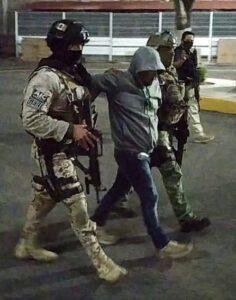 """Momento de la detención de """"El Marro"""""""